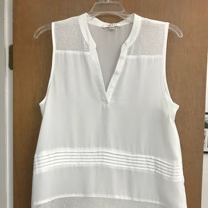 Tops - Beautiful short sleeve white blouse.
